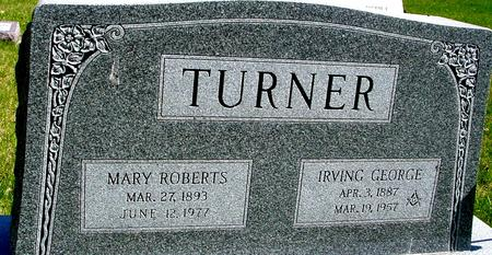 TURNER, IRVING & MARY - Sac County, Iowa | IRVING & MARY TURNER