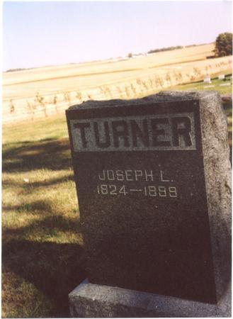 TURNER, JOSEPH L. - Sac County, Iowa | JOSEPH L. TURNER