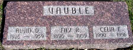 VAUBLE, ALVIN , CELIA, & FAY - Sac County, Iowa | ALVIN , CELIA, & FAY VAUBLE
