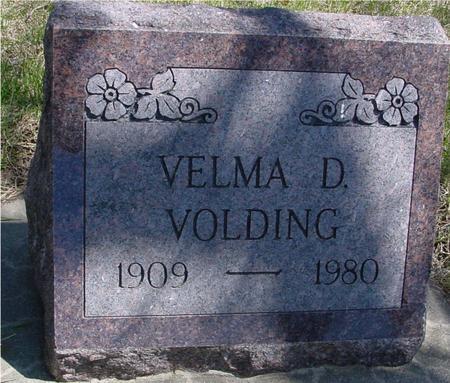 VOLDING, VELMA D. - Sac County, Iowa | VELMA D. VOLDING