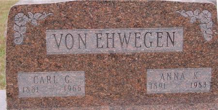 VON EHWEGEN, CARL & ANNA - Sac County, Iowa | CARL & ANNA VON EHWEGEN