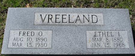 VREELAND, FRED & ETHEL I. - Sac County, Iowa | FRED & ETHEL I. VREELAND