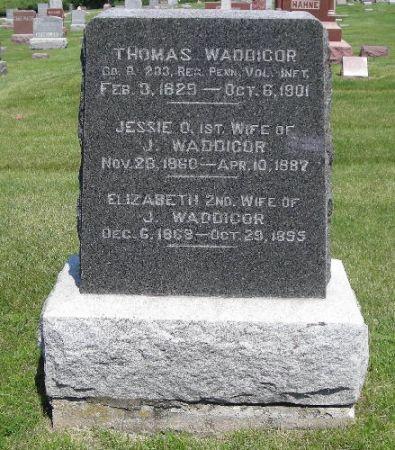 WADDICOR, THOMAS - Sac County, Iowa   THOMAS WADDICOR