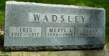 WADSLEY, MERYL & HELEN - Sac County, Iowa | MERYL & HELEN WADSLEY