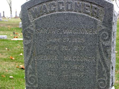 WAGGONER, GEORGE & SARAH - Sac County, Iowa   GEORGE & SARAH WAGGONER