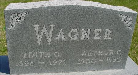 WAGNER, ARTHUR & EDITH - Sac County, Iowa | ARTHUR & EDITH WAGNER