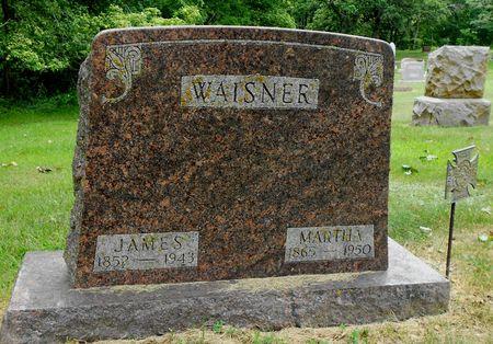 WAISNER, MARTHA ELLEN - Sac County, Iowa   MARTHA ELLEN WAISNER