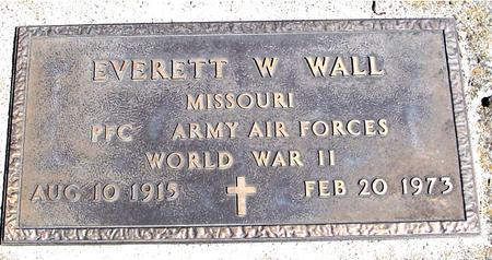 WALL, EVERETT W. - Sac County, Iowa | EVERETT W. WALL
