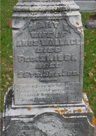 WALLACE, MARY - Sac County, Iowa | MARY WALLACE