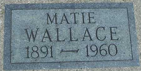 WALLACE, MATIE - Sac County, Iowa | MATIE WALLACE