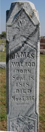 WALROD, JAMES - Sac County, Iowa | JAMES WALROD