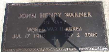 WARNER, JOHN HENRY - Sac County, Iowa | JOHN HENRY WARNER