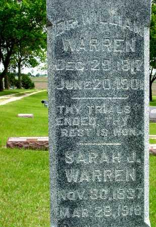 WARREN, DR. WILLIAM & SARAH - Sac County, Iowa | DR. WILLIAM & SARAH WARREN