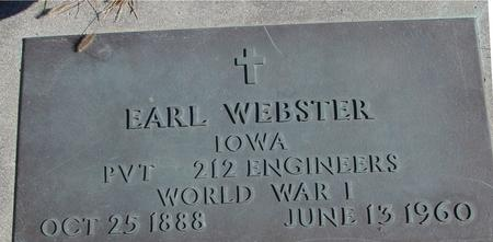 WEBSTER, EARL - Sac County, Iowa | EARL WEBSTER