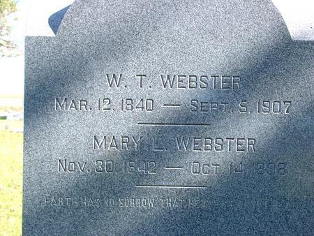 WEBSTER, WILLIAM THOMAS - Sac County, Iowa | WILLIAM THOMAS WEBSTER