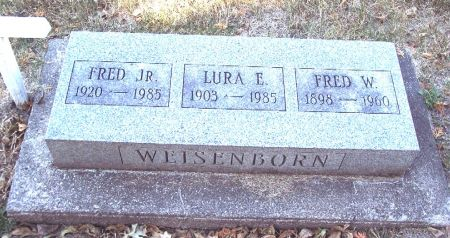 WEISENBORN, LURA ELIZABETH - Sac County, Iowa   LURA ELIZABETH WEISENBORN