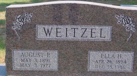 WEITZEL, AUGUST & ELLA - Sac County, Iowa | AUGUST & ELLA WEITZEL