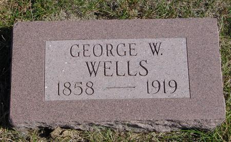 WELLS, GEORGE W. - Sac County, Iowa | GEORGE W. WELLS