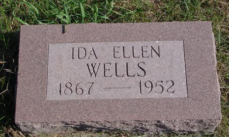 WELLS, IDA ELLEN - Sac County, Iowa   IDA ELLEN WELLS