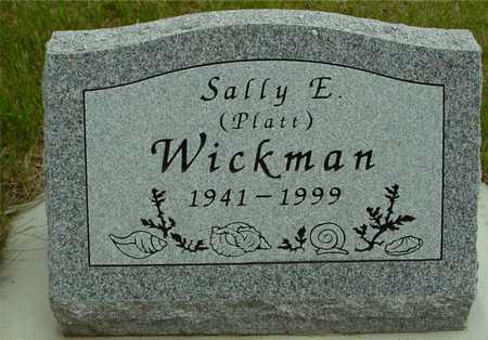 WICKMAN, SALLY E. - Sac County, Iowa | SALLY E. WICKMAN