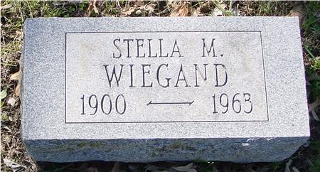 WIEGAND, STELLA M. - Sac County, Iowa | STELLA M. WIEGAND