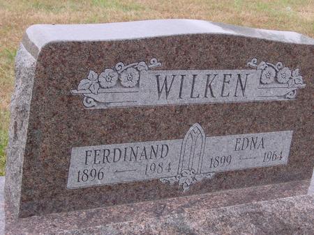 WILKEN, FERDINAND & EDNA - Sac County, Iowa | FERDINAND & EDNA WILKEN