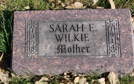 WILKIE, SARAH E. - Sac County, Iowa | SARAH E. WILKIE