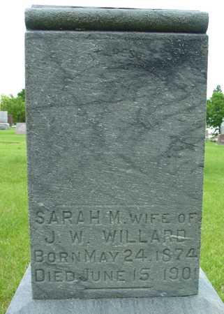 WILLARD, SARAH M. - Sac County, Iowa | SARAH M. WILLARD