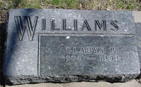 WILLIAMS, GLADYS P. - Sac County, Iowa | GLADYS P. WILLIAMS