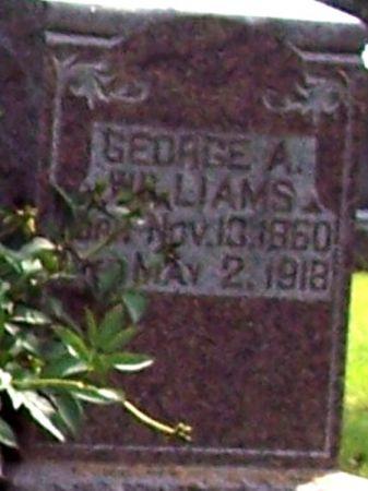 WILLIAMS, GEORGE A - Sac County, Iowa   GEORGE A WILLIAMS