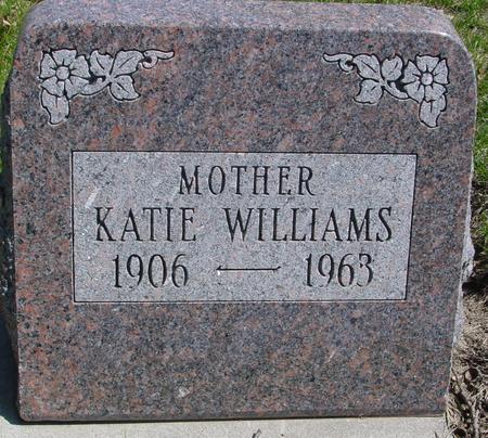 WILLIAMS, KATIE - Sac County, Iowa   KATIE WILLIAMS