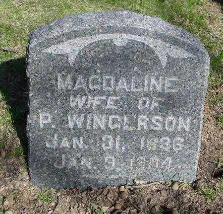 WINGERSON, MAGDALINE - Sac County, Iowa | MAGDALINE WINGERSON