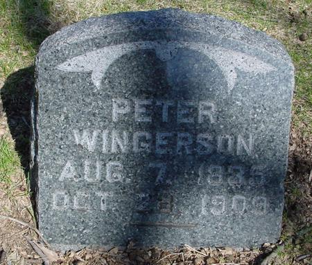 WINGERSON, PETER - Sac County, Iowa | PETER WINGERSON