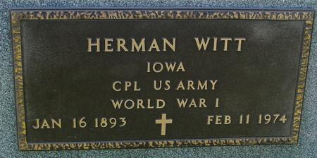 WITT, HERMAN - Sac County, Iowa | HERMAN WITT