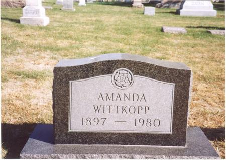 WITTKOPP, AMANDA - Sac County, Iowa | AMANDA WITTKOPP