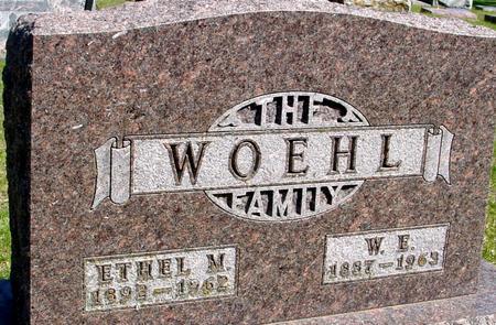WOEHL, W. E. & ETHEL - Sac County, Iowa | W. E. & ETHEL WOEHL