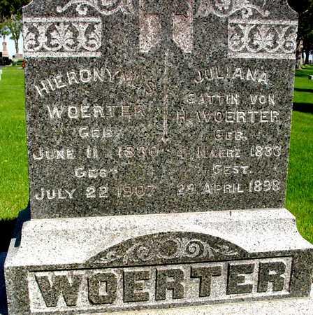 WOERTER, JULIANNA & H. - Sac County, Iowa | JULIANNA & H. WOERTER