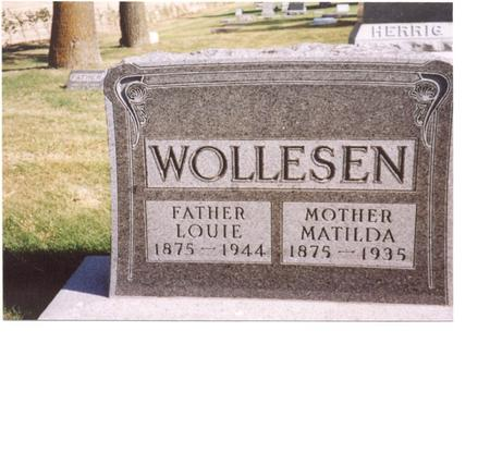 WOLLESEN, LOUIE & MATILDA - Sac County, Iowa | LOUIE & MATILDA WOLLESEN