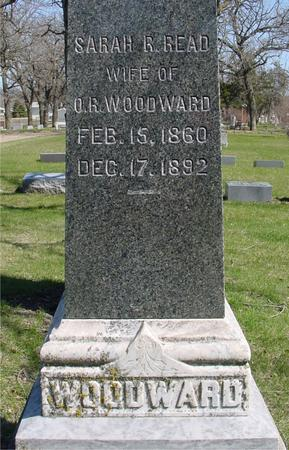 WOODWARD, SARAH R. - Sac County, Iowa | SARAH R. WOODWARD