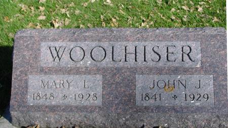 WOOLHISER, JOHN & MARY - Sac County, Iowa | JOHN & MARY WOOLHISER