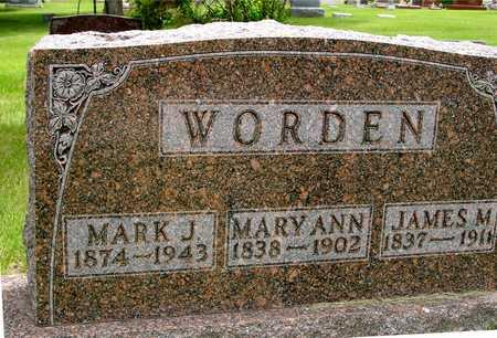 WORDEN, JAMES & MARY ANN - Sac County, Iowa | JAMES & MARY ANN WORDEN