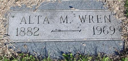 WREN, ALTA M. - Sac County, Iowa | ALTA M. WREN