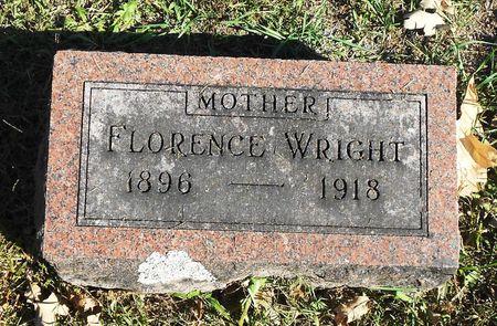 STOUT WRIGHT, FLORENCE E - Sac County, Iowa | FLORENCE E STOUT WRIGHT
