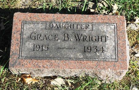 WRIGHT, GRACE BESSIE - Sac County, Iowa | GRACE BESSIE WRIGHT