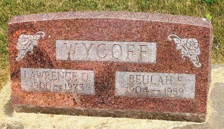 NICESWANGER WYCOFF, BEULAH FAUNTELLE - Sac County, Iowa   BEULAH FAUNTELLE NICESWANGER WYCOFF