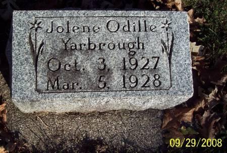 YARBROUGH, JOLENE ODILLE - Sac County, Iowa | JOLENE ODILLE YARBROUGH