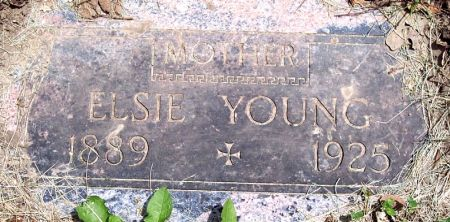 ALEXANDER YOUNG, ELSIE MAY - Sac County, Iowa | ELSIE MAY ALEXANDER YOUNG