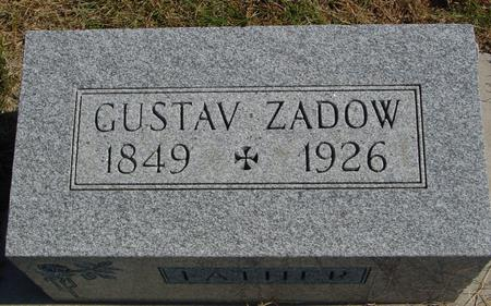 ZADOW, GUSTAV - Sac County, Iowa | GUSTAV ZADOW