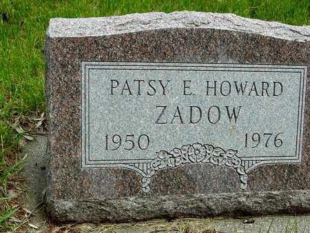ZADOW, PATSY E. - Sac County, Iowa   PATSY E. ZADOW