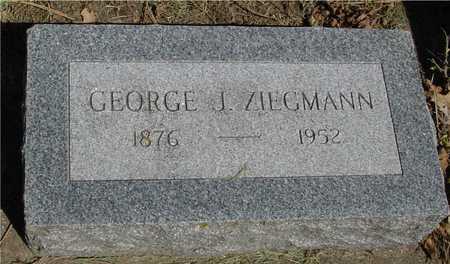 ZIEGMANN, GEORGE J. - Sac County, Iowa | GEORGE J. ZIEGMANN
